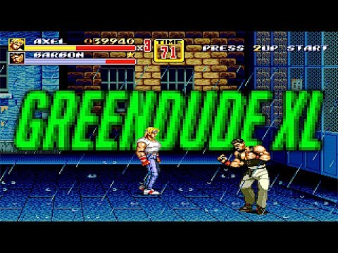 Streets Of Rage... Literally.