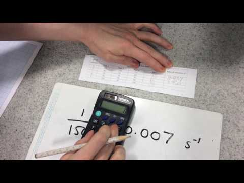 9-1 GCSE Biology Required Practical 5, Amylase Pt 2