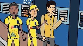 IPL 2018 | why Ashwin Leave Csk | Animation ( Tamil ) | Cartoon Pasanga