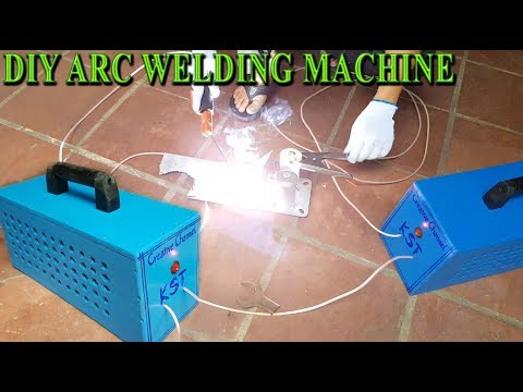 DIY a Arc Welding Machine at home