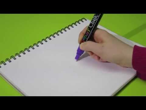 Getting the Ink Started for your Wonder Chalk™ Liquid Chalk Markers