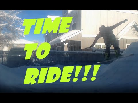 Welcome to My Snowboard Halfpipe! It's Time to Ride!!!