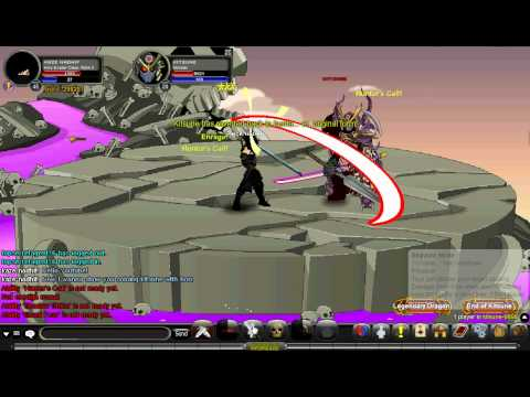 AQW - Kaze Nadhif - Soloing Kitsune With Horc Evader