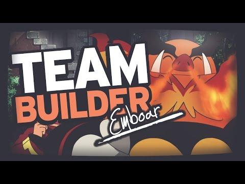Pokemon Team Building | Black & White | Tepig, Pignite & Emboar