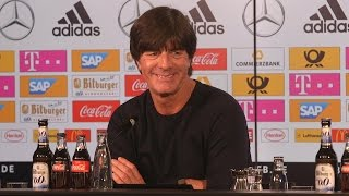 Germany 1-0 England - Joachim Low Full Post Match Press Conference (In German)