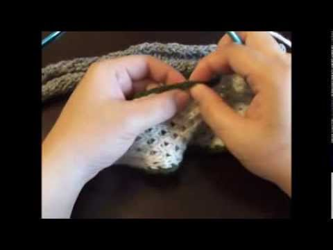 How To Knit An I Cord Onto A Finished Edge