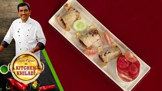 Sanjeev Kapoor Ke Kitchen Khiladi - Episode 53 - Sauji Chicken Wrap