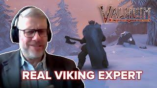 Real Viking Professor Reviews Valheim