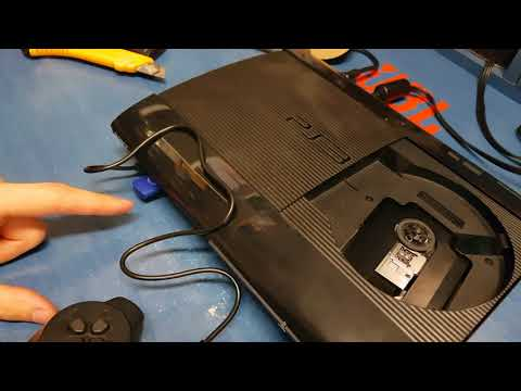 How to change / uprage and format HARD DRIVE in PS3 Playstation 3 | Superslim