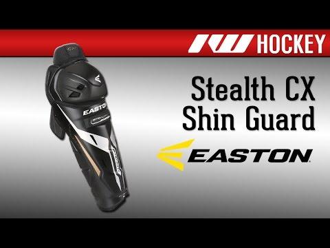 Easton Stealth CX Hockey Shin Guard Review