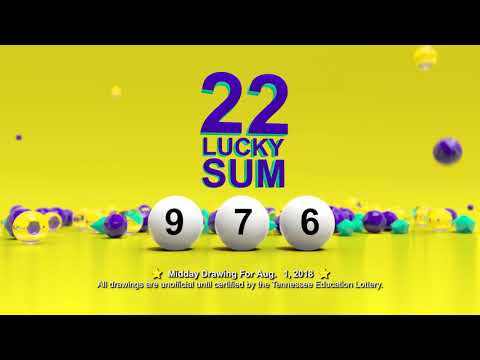 Tennessee Lottery Midday_C3_C4_LS 08/01/2018