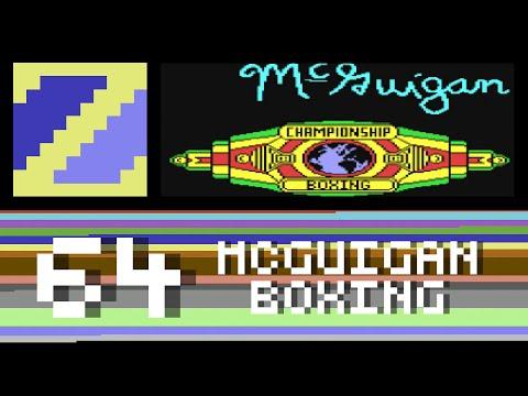 Barry McGuigan's World Championship Boxing -  C64 Sundays Rank 64