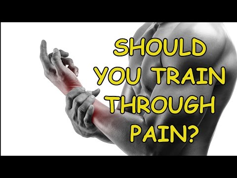 Should you train through pain?
