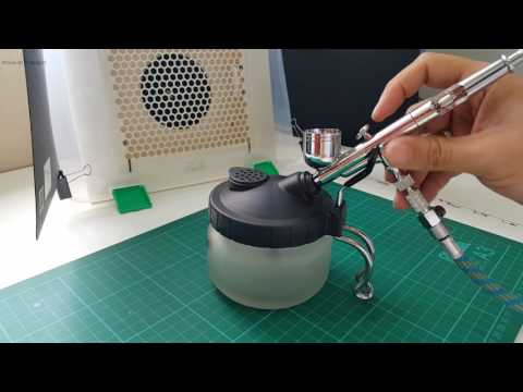 Review: Hobbiworkz Airbrush Cleaning Pot