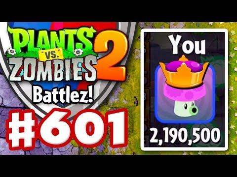 BATTLEZ! High Score! Over 2 Million! - Plants vs. Zombies 2 - Gameplay Walkthrough Part 601