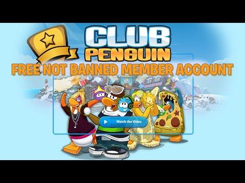 Free Club Penguin Member Account December 2014