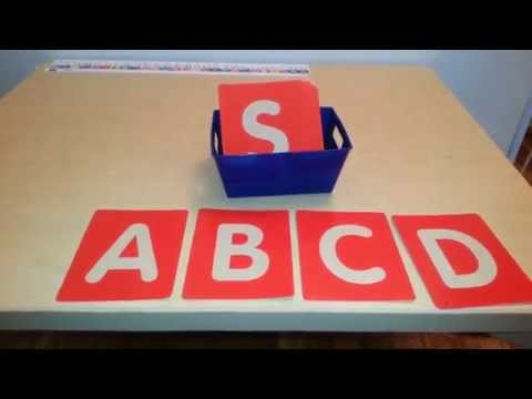 Montessori Tactile Letters and Activities for children: Pre-writing Skills/Phonics