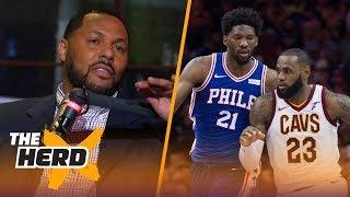 Former LeBron teammate Eddie House talks The King in Philly, Raptors struggles   THE HERD