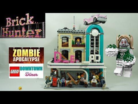 LEGO Zombie Apocalypse Downtown Diner