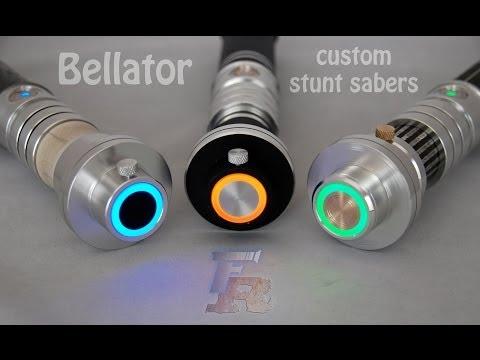 Bellator custom stunt sabers