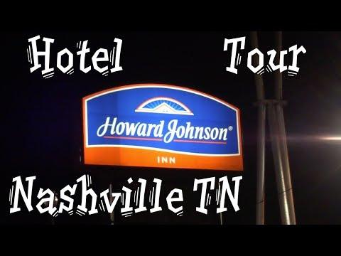 Hotel Tour: Howard Johnson Inn Nashville TN