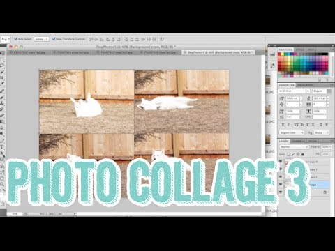 399: Easy Photo Collages 3 with Photoshop -How to get 4 photos onto a 4x6 print