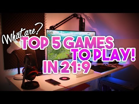 Top 5 Games To Play In 21:9 ~ Best Looking Games For Low / High End PC ~ FPS, Adventure, RPG, Mods