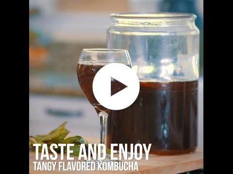 How to Make Tangy Flavored Kombucha