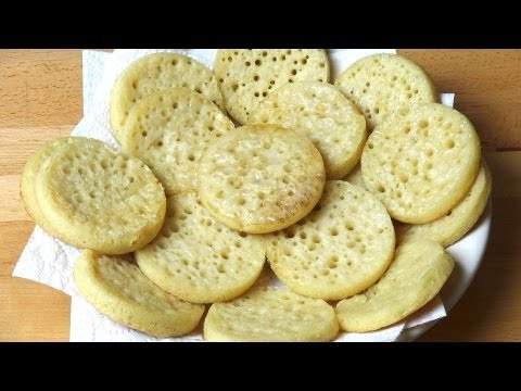 Home Made Crumpets | One Pot Chef