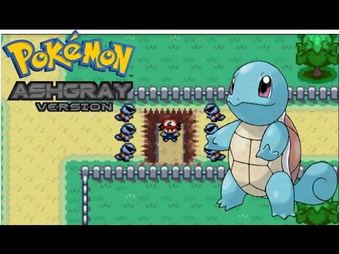 Let's Play Pokemon Ash Gray -Episode 8 !! Squirtle !