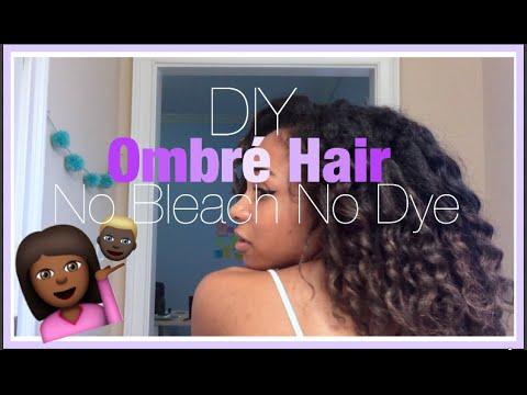 DIY Ombré Hair No Bleach No Dye   As Told By Kira