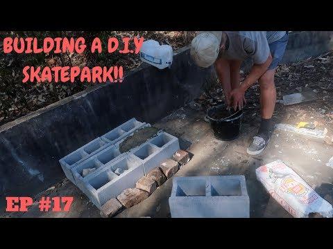 HOW TO MAKE A QUARTER PIPE!! D.I.Y #17