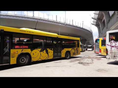 Buses In JB Sentral - 2017