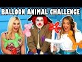 Balloon Challenge Jenn Vs Margeaux With Smoochie The Clown. Totally Tv mp3