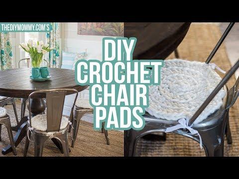 DIY Chunky Crochet Chair Pad Tutorial