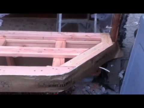 How to frame a bay window