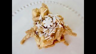 BUTTERSCOTCH HAYSTACKS | Old-Fashioned Style | DIY Treats