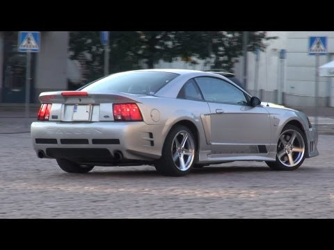 2001 Saleen Mustang Supercharged S281 - startups, exhaust sound, overview