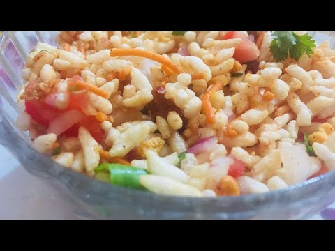Bhel Puri Recipe / How to make Bhel Puri Chat Recipe | Simple and Easy | Tea time snack by Damini