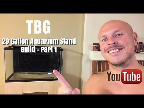 DIY 29 Gallon Aquarium Stand Build - Part 1