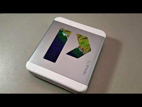 Nexus 6P Unboxing & Setup: Matte Gold