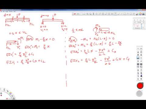 Mechanics of Materials-Lecture-23-Beam Deflection--Matching Boundary Conditions