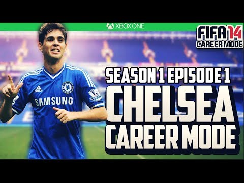 FIFA 14: Chelsea Career Mode: S1E1 :Down to Business!