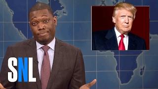 Weekend Update on Donald Trump