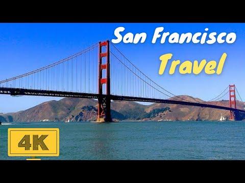 San Francisco Travel 2018 in 4K | Historic Golden Gate Bridge, Alcatraz Prison, San Franscisco Bay