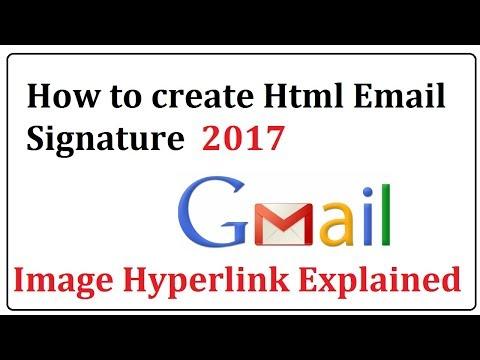 create html email signature