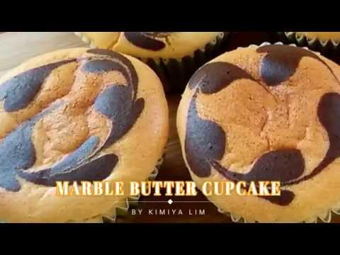 Super Soft & Fluffy Marble Butter cupcake