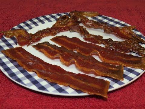 Cooking Easy Bacon in the Toaster Oven~Turkey Bacon vs Pork Bacon