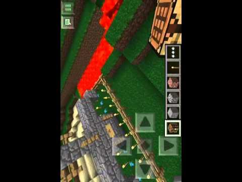 Minecraft 0.7.2 creative mode