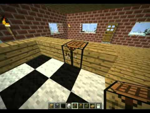 Minecraft - How to Make a cool Kitchen